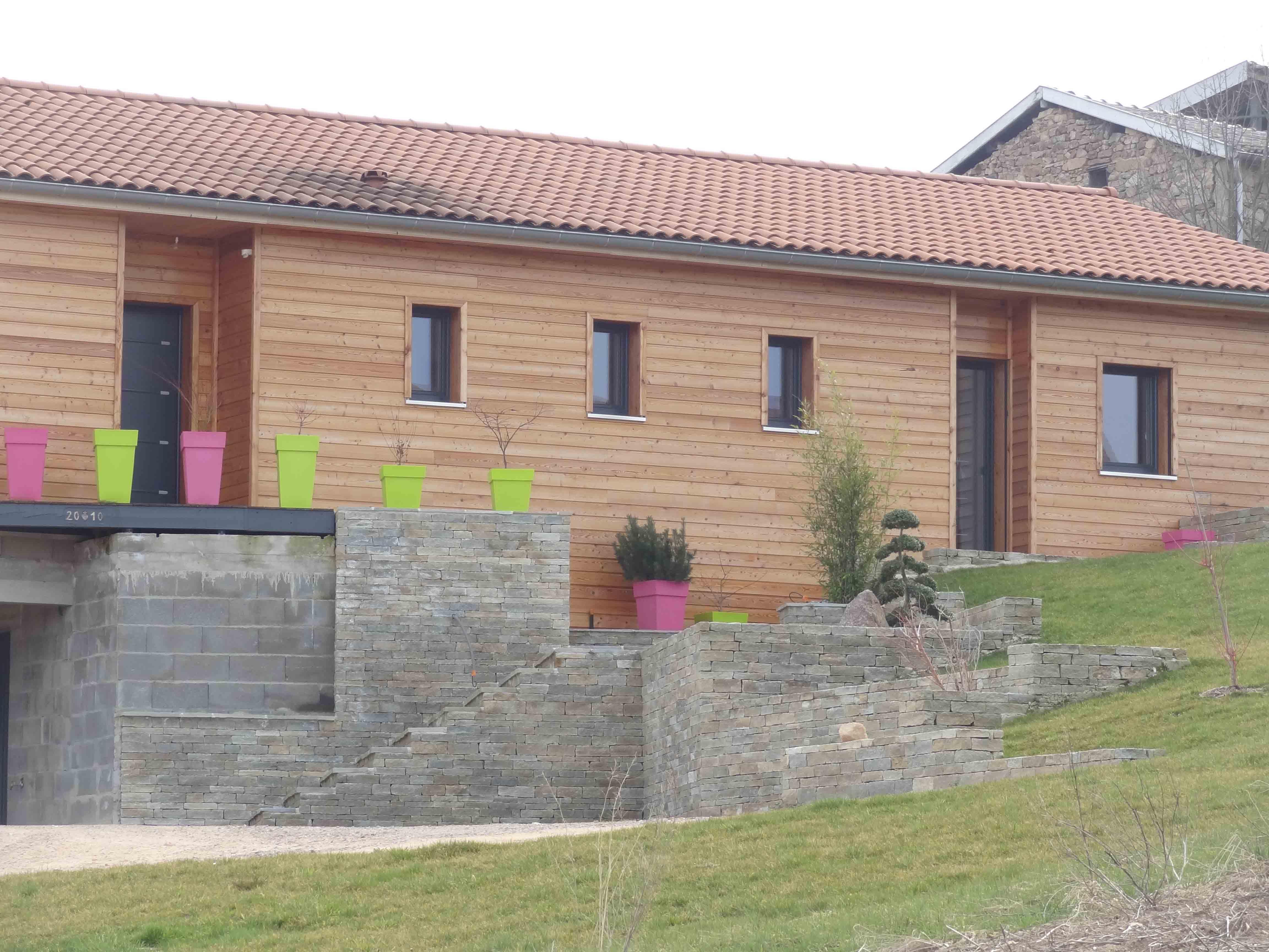 Villa ossature bois quilibre architectes for Villa ossature bois